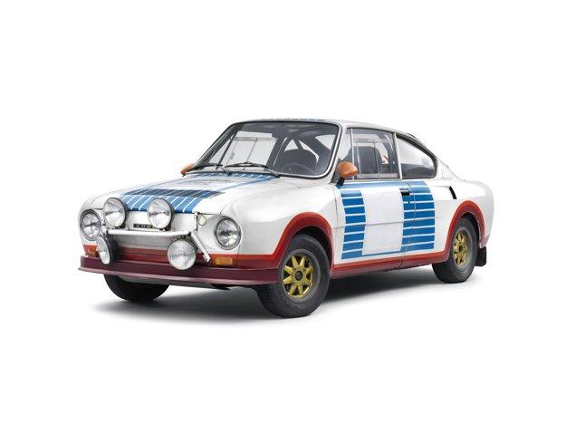 Škoda 130RS, ktorá v roku 1977 vyhrala Rally Monte Carlo.