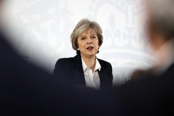 Mayová predstavila plán brexitu.