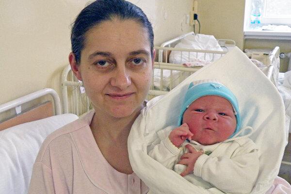 Minulý rok sa ako prvé dieťa v regióne narodil Janko Čavojec z Kameničian.