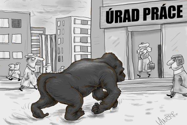 Nezamestnaná gorila (Vaněk)