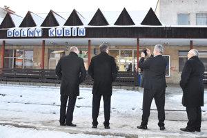 Hlavná železničná stanica vDolnom Kubíne. Generálny riaditeľ ŽSR si ju odfotil. Uznal, že potrebuje opravu.