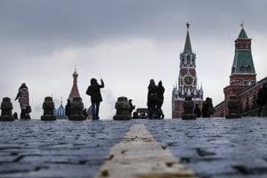 Moskovský Kremeľ.