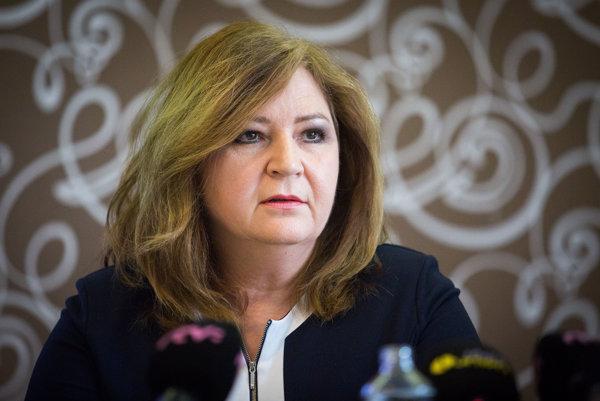 Nominantka občanov na post verejného ochrancu práv Alena Dušatková.