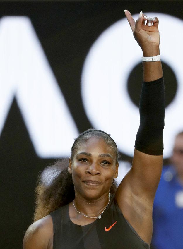 Serena bez problémov postúpila do finále.