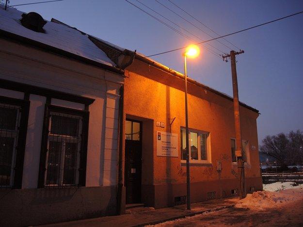 Denné centrum a nocľaháreň na Nešporovej ulici.