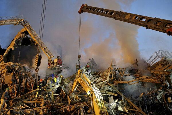Požiar a následný pád budovy bol najhoršou takouto katastrofou v Teheráne od roku 2005.