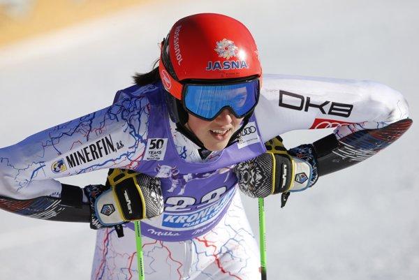 Petra Vlhová sa v St. Moritzi predstaví aj v obrovskom slalome.