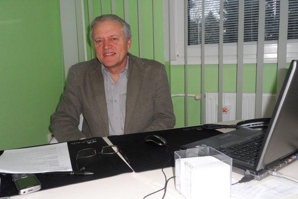 Peter Bartovič, riaditeľ Domova Jesienka v Šuranoch.