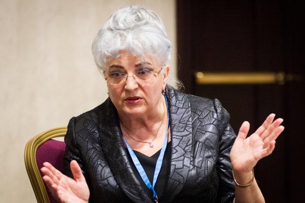 Predsedníčka Najvyššieho súdu SR Daniela Švecová.