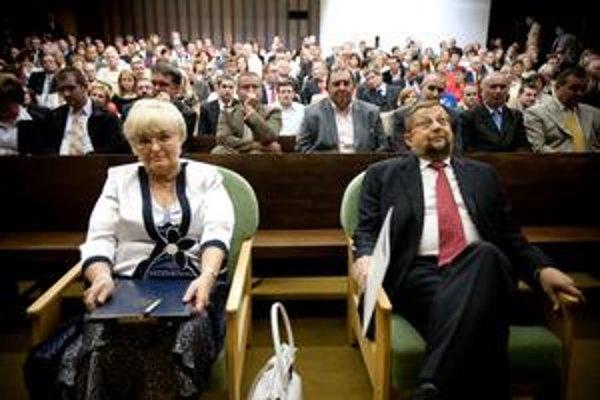 Sudkyňa Eva Babiaková sa vlani postavila ako jediná protikandidátka vo voľbe predsedu Najvyššieho súdu Štefanovi Harabinovi. Tridsať jej spisov prenieslo vedenie súdu na inú sudkyňu bez elektronickej podateľne. Babiaková to nenamietala.
