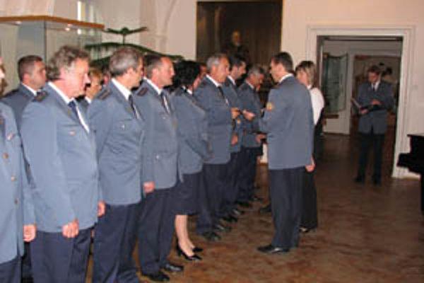 Medzi ocenenými boli aj hasiči z hornej Nitry.