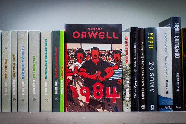 Kniha 1984 je už hitom aj na Slovensku. Zažíva nárast predaja o 40 percent.