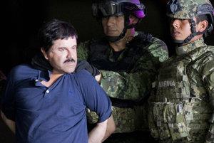 Mexický narkobarón Guzmán.