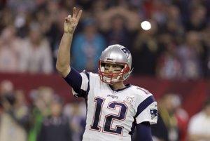 Americký futbalista Tom Brady (New England Patriots)