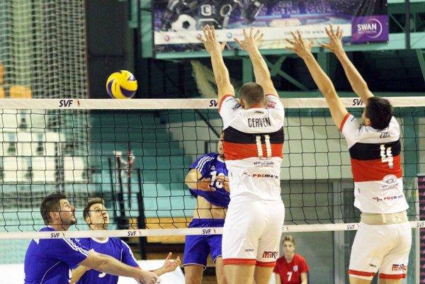 Volejbalisti Nitry vo vlaňajšom finále Slovenského pohára v mestskej hale podľahli Prešovu 2:3.
