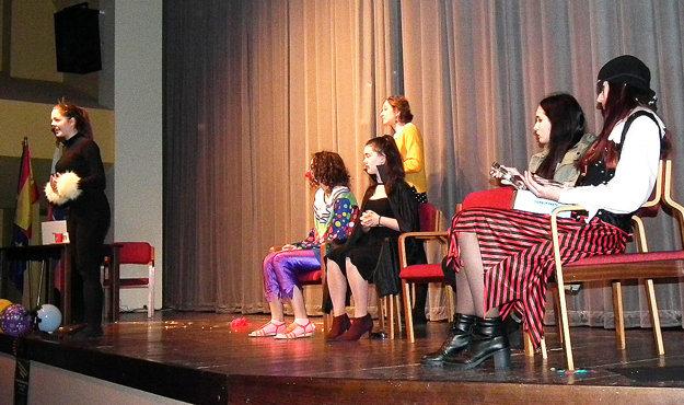 Študenti predviedli perfektné herecké, ale aj jazykové výkony.
