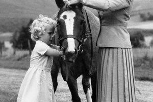 S dcérou Annou v septembri 1955.
