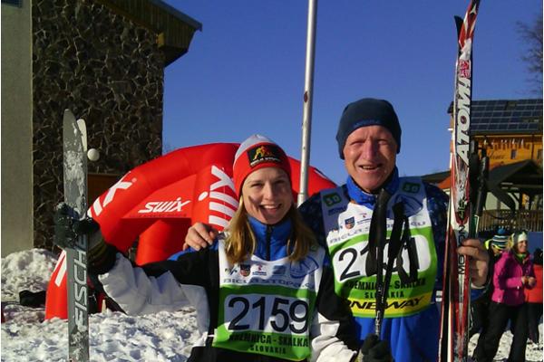 Igor Vestenický so svojou dcérou.