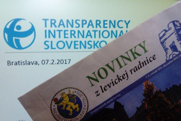 Novinky z levickej radnice obsadili 6. miesto spomedzi stovky hodnotených radničných novín na Slovensku.