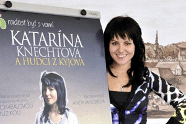 Katka Knechtová sa predstaví 19. apríla v Prievidzi počas netradičného koncertu s viacerými hosťami.