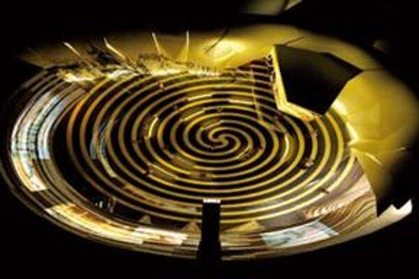 Vizualizácia slovenského pavilónu na výstave Expo v Šanghaji. Názov našej výstavy:  Svet pre ľudstvo.