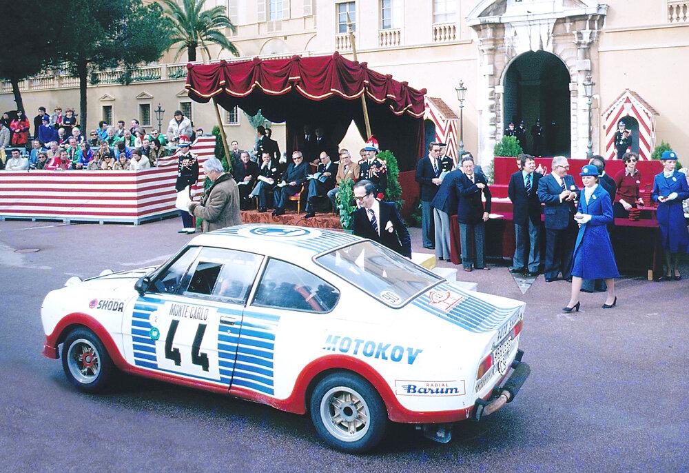 V roku 1977 obsadila Škoda 130 RS na Rely Monte Carlo prvé dve miesta v triede do 1300 ccm