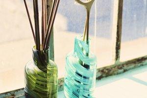 Vázy z dielne Iina Vuorivirta.