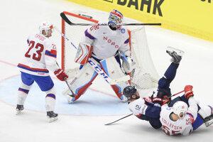 Hokejisti Slovenska prehrali s Nórskom siedmy raz.
