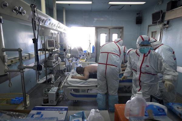 Pacient hospitalizovaný pre podozrenie na vtáčiu chrípku. V Číne podľahlo ochoreniu už takmer tridsať ľudí.