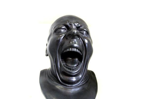 Jedna z Messerschmidtových charaketorových hláv.