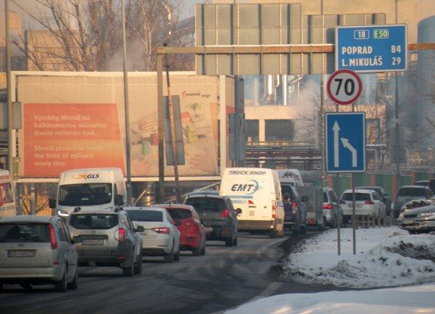 Nová sedemdesiatka na výjazde z Ružomberka je len v smere do Liptovského Mikuláša. Z druhej strany nie je v pláne.