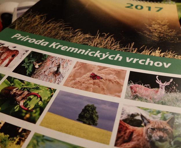 Predná strana kalendára.