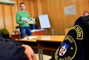 Mestskí policajti v Poprade sú pripravení zachraňovať ľudské životy.