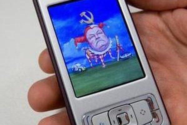 Prezidenta sťahujú do mobilov.