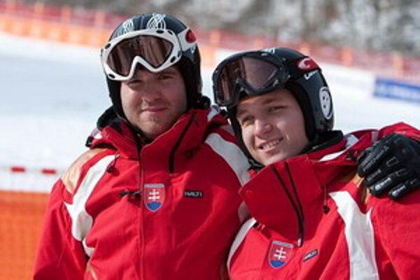 Jakub Krako s Jurajom Mederom po zisku dvoch zlatých medailí tentoraz na cenný kov nedosiahli.