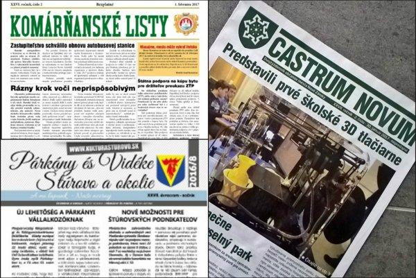 Až tri štvrtiny samosprávnych novín na Slovensku sú skôr propagandou – hovorí v hodnotení Transparency International Slovensko.