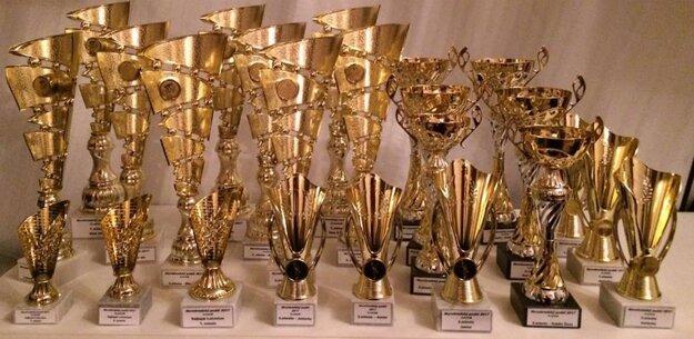 Trofeje sú už pripravené.