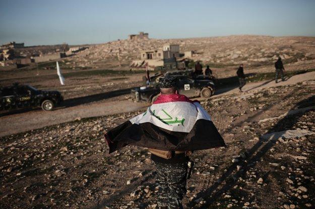 Iracké sily sa chystajú na operáciu.