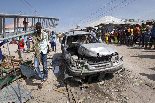 V Mogadišu vybuchla nálož.