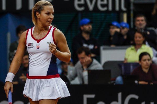 Dominika Cibulková priznala, že účasť vo Fed Cupe narušila jej turnajový program.