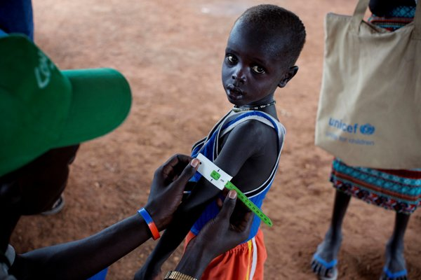 Nedostatok potravín trápi aj Južný Sudán.