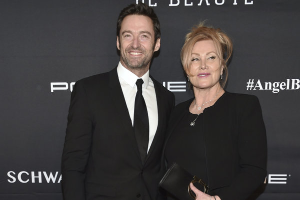 Hugh Jackman s manželkou Deborrou-Lee Furnessovou