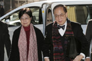 Donald Tsang s manželkou.
