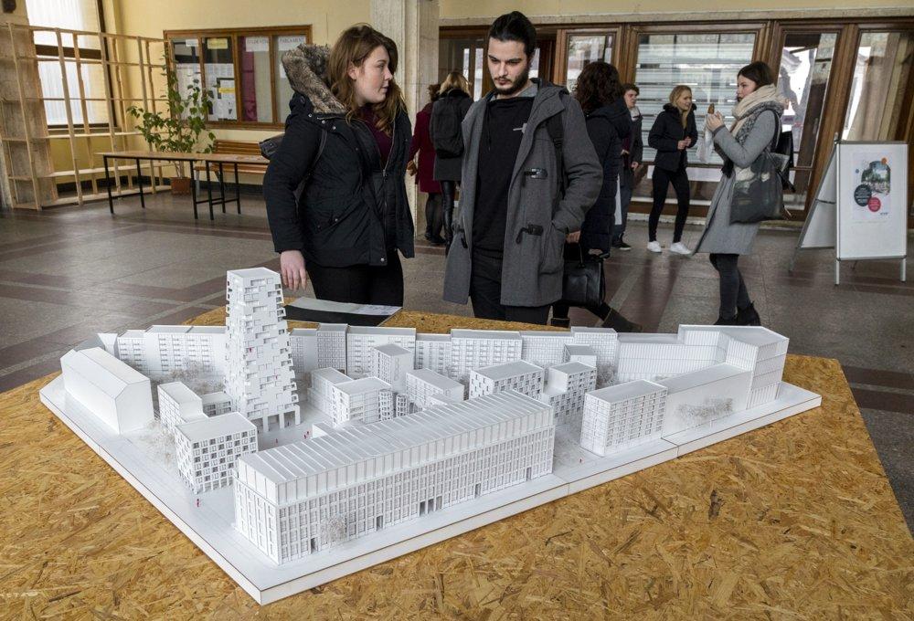 Výstava urbanistických štúdií