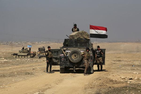 Iracké vládne sily v západnej časti Mósulu.