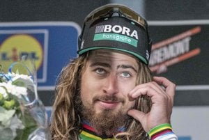 Peter Sagan podal opäť famózny výkon.