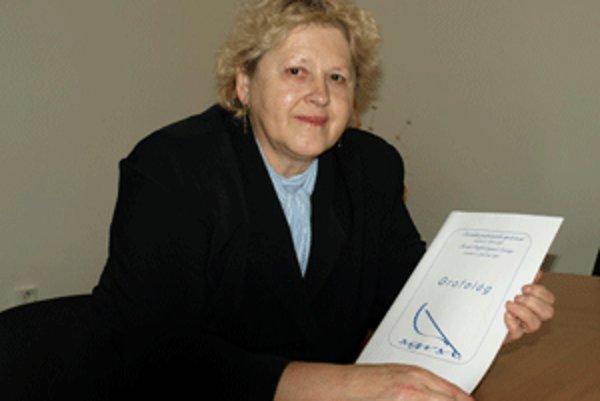Zdenka Hlivová sa grafológii venuje už viac ako pätnásť rokov.