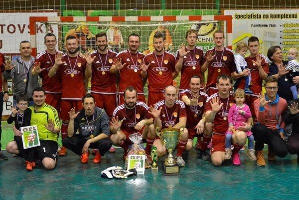 ALTRAX - víťaz XXI. ročníka Okresnej futsalovej ligy