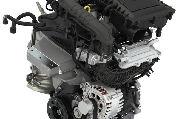 Trojvalcový motor 1,0 TSI.
