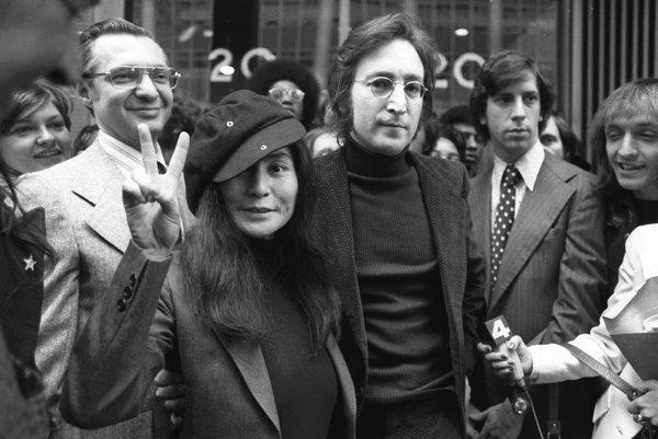 Yoko Ono a John Lennon